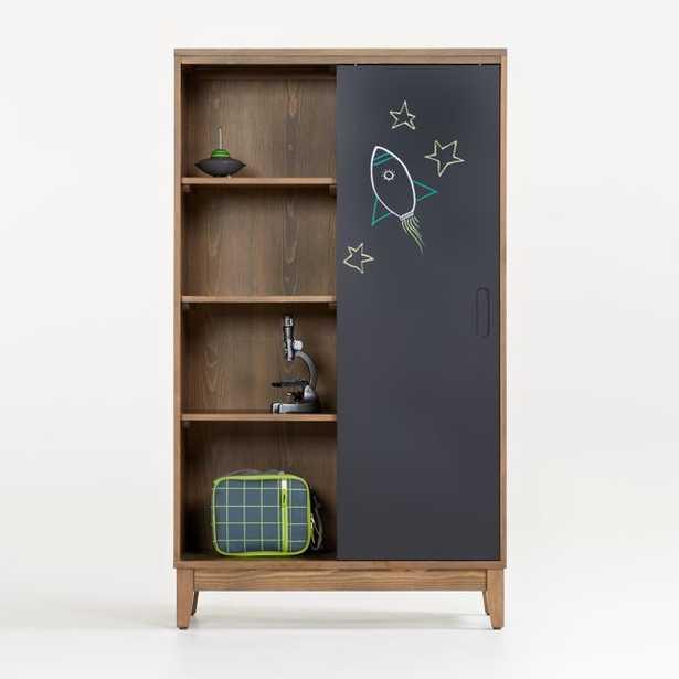 Chalkboard Cocoa Bookcase - Crate and Barrel