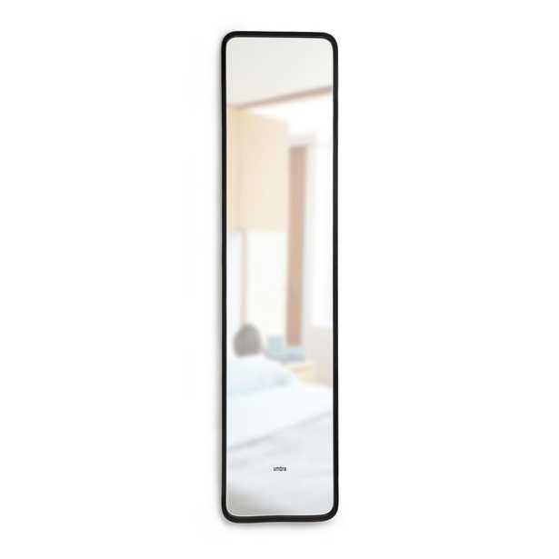 Umbra Hub Leaning Mirror 62X14.5 Black - Home Depot