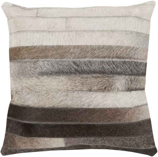 Trail 18x18 Pillow with Down Insert - Neva Home
