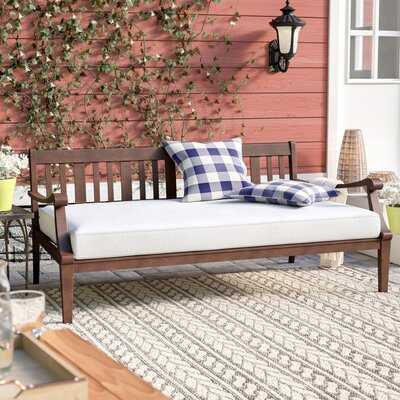 Dowling Patio Daybed with Cushion - Wayfair