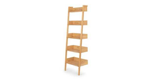 Fantol Oak Narrow Bookcase - Article