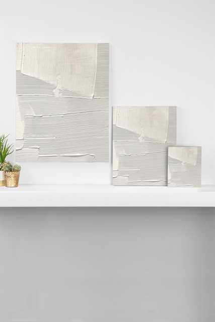 "Relief 1 by Alyssa Hamilton Art - Art Canvas 24"" x 30"" - Wander Print Co."