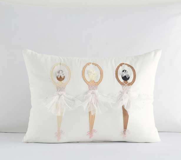 Ballerina Pillow, 12X16, Multi - Pottery Barn Kids