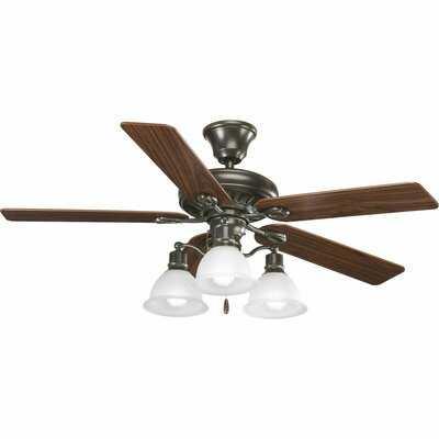 3-Light Branched Ceiling Fan Light Kit - Birch Lane