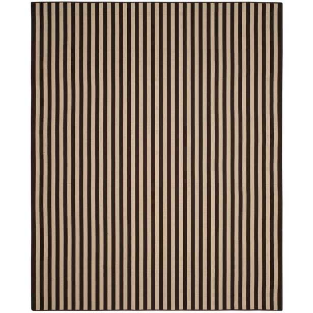 Four Seasons Ivory/Brown 8 ft. x 10 ft. Indoor/Outdoor Area Rug - Home Depot
