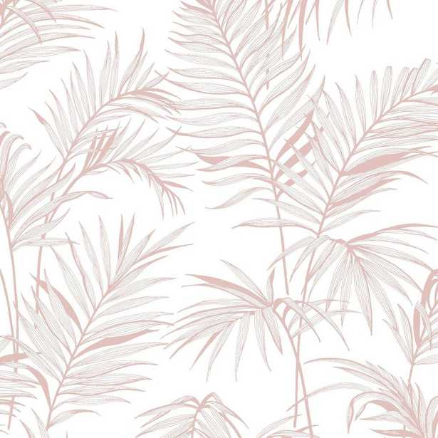 Superfresco Easy Litho Tropical Pink Removable Wallpaper - Home Depot