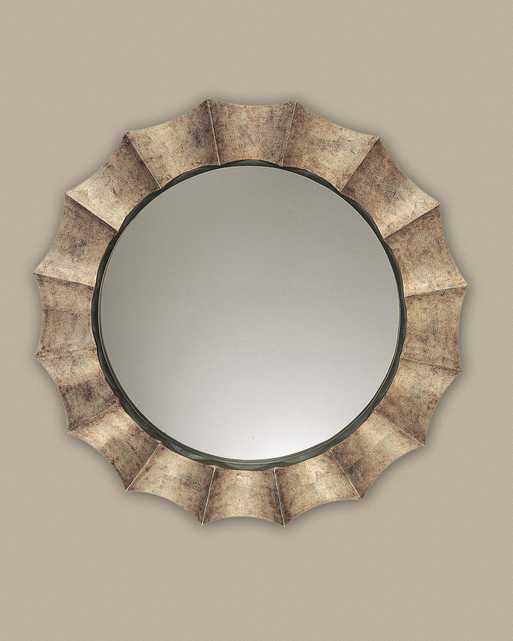 Gotham U Antique Silver Mirror - Hudsonhill Foundry