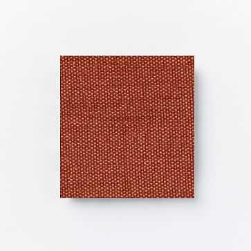 Upholstery Fabric By The Yard, Basket Slub, Chili - West Elm