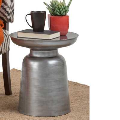 Pedestal End Table - Wayfair