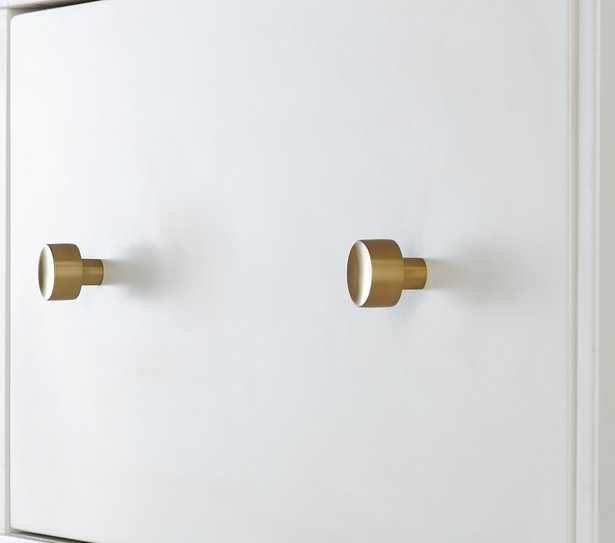 Cameron Wall System Traditional Cabinet Hardware, Brass, UPS - Pottery Barn Kids