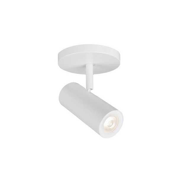 WAC Silo X10 White 3000K LED Track Ceiling Spot Light - Style # 55W41 - Lamps Plus