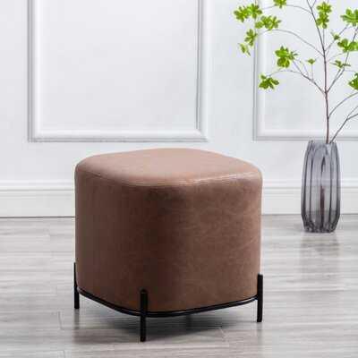 Mysha 16.5'' Square Cube Ottoman - Wayfair