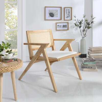 Minhquan Rattan Back Accent Chair - Wayfair
