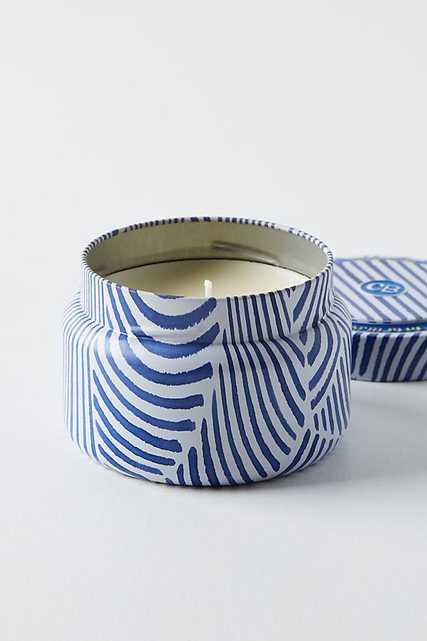 Capri Blue Candle Tin By Capri Blue in Blue - Anthropologie