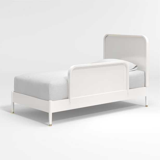 Arlo White Bed Rail - Crate and Barrel
