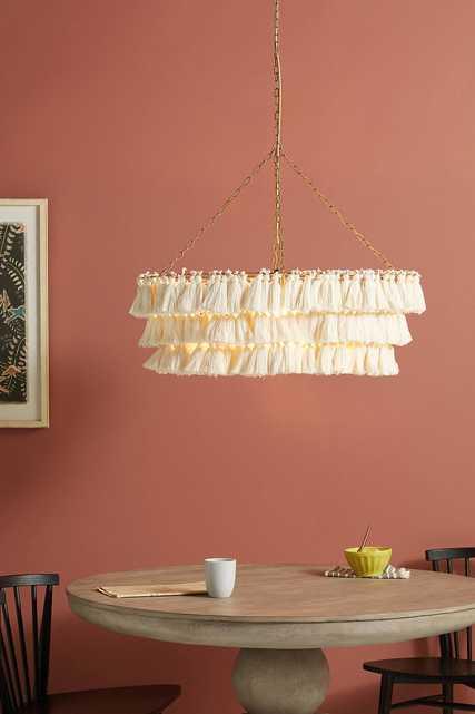 Fela Tasseled Dining Room Chandelier - Anthropologie