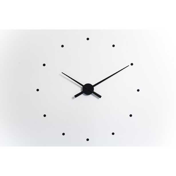 Nomon Oj Mini Wall Clock Finish: Black, Size: Small - Perigold
