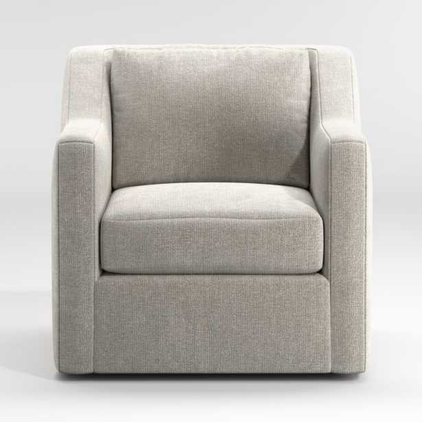 Notch Swivel Chair - Crate and Barrel