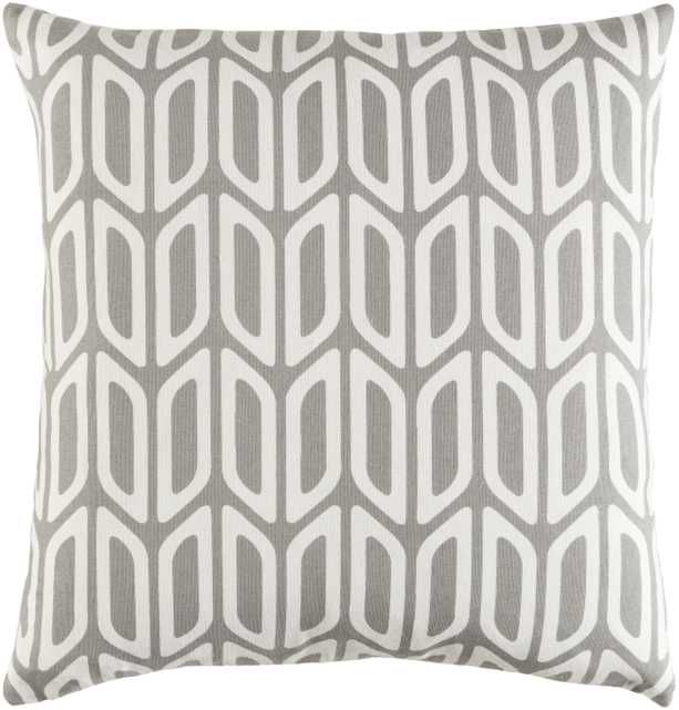 """Trudy, 18"""" Pillow with Down Insert - Neva Home"""