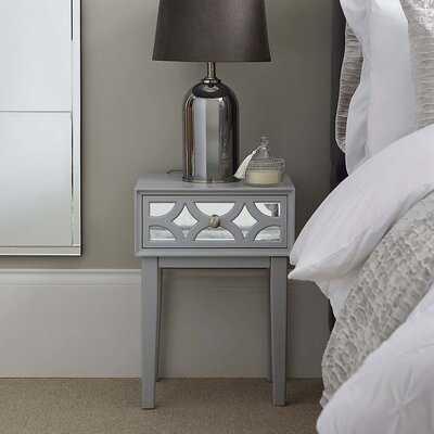 Rettig 1 - Drawer Nightstand in Light Gray - Wayfair