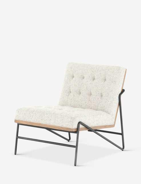 Anouk Accent Chair, Neutral - Lulu and Georgia