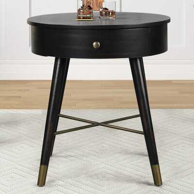 Manorville End Table with Storage - Wayfair