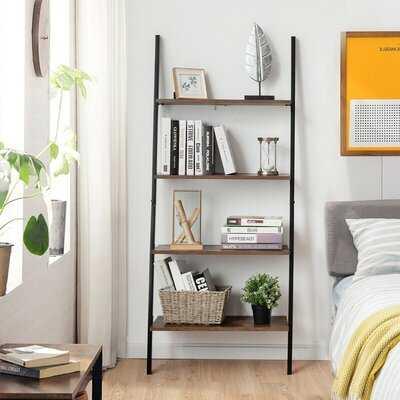 "Rukhsar 60"" H x 25"" W Ladder Bookcase - Wayfair"