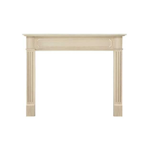 Pearl Mantels Alamo 50 in. x 42 in. Unfinished Full Surround Mantel - Home Depot