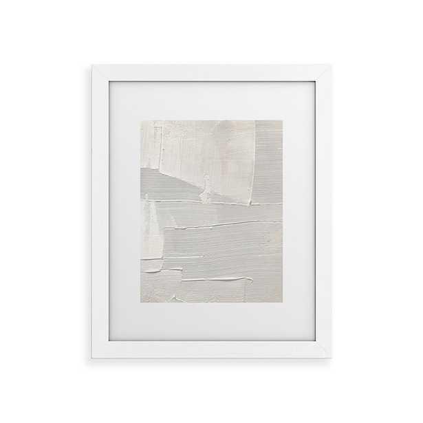 "Relief 1 by Alyssa Hamilton Art - Classic Framed Art Print White 24"" x 36"" - Cove Goods"