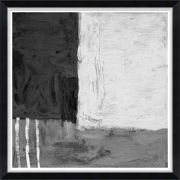 Soicher Marin Finn & Ivy 'Modern Abstracts in Black and White' Print - Perigold