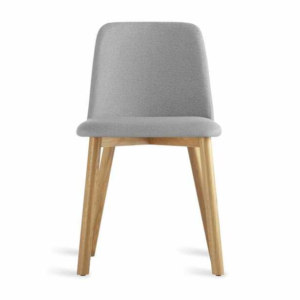 Blu Dot Chip Side Chair in Pewter Color: White Oak - Perigold