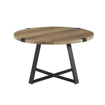 Enrique Cross Legs Wrap Coffee Table - AllModern