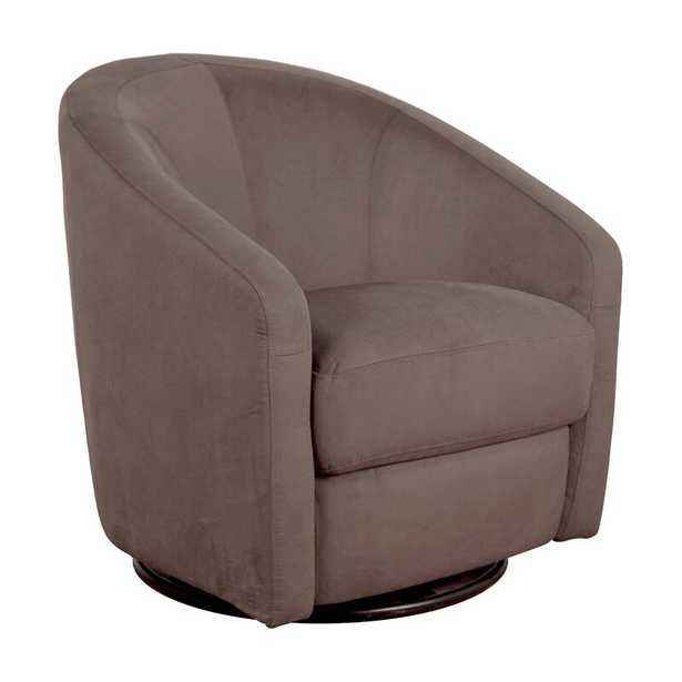 Madison Swivel Glider Upholstery Color: Slate - Perigold