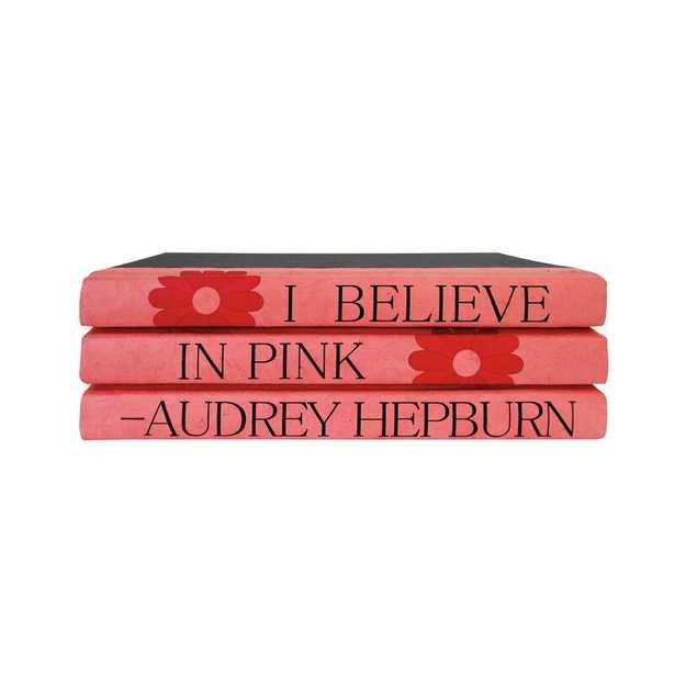 E. Lawrence Ltd. 3 Piece Audrey Hepburn Quote Decorative Book Set - Perigold