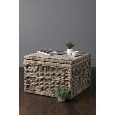 Woven Storage Rattan Basket - Wayfair