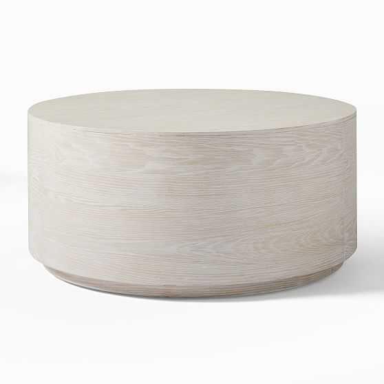 """Drum Coffee Table, 36"""", Winterwood - West Elm"""