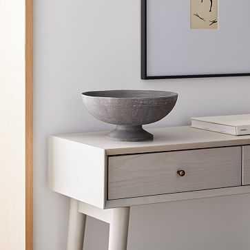 Rustic Centerpiece Bowl, Ocean, Medium - West Elm