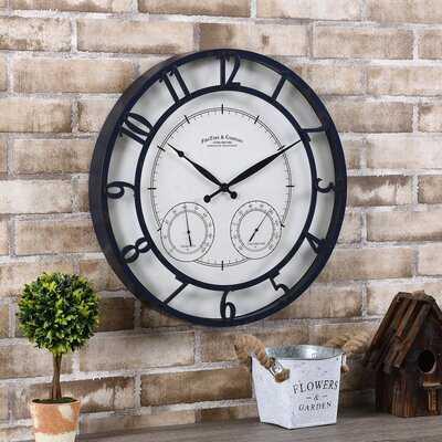 "Katherine 18"" Wall Clock - Wayfair"