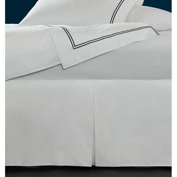 """SFERRA Grande Hotel 21"""" Bed Skirt Size: Queen, Color: White - Perigold"""