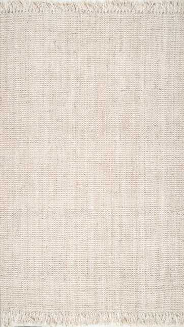 "Krew Rug, 9'6""x12'6"", Off-white - Roam Common"