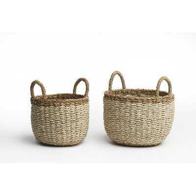 Jute Storage Basket - Wayfair