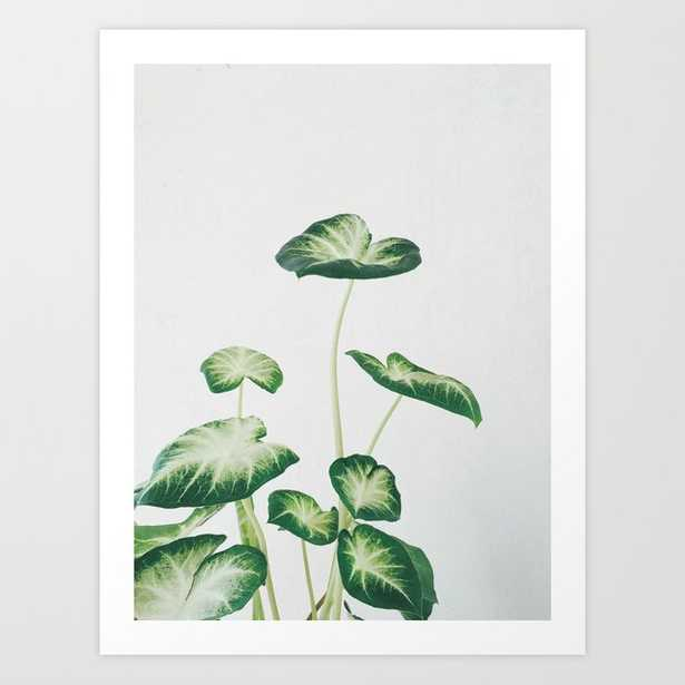 Cluster Of Leaves Art Print by Cassia Beck - X-Small - Society6
