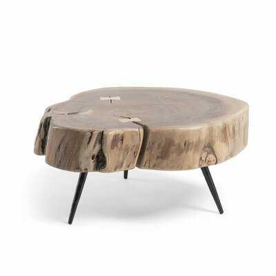 Adalynn 3 Legs Coffee Table - Wayfair