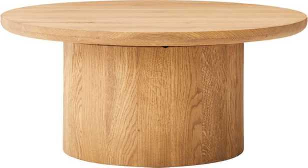 Justice Oak Coffee Table - CB2
