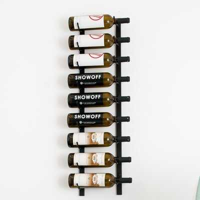 Indurial 9 Bottle Wall Mounted Wine Rack - AllModern