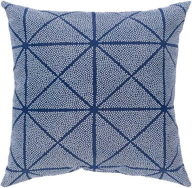 """Mazarine - MZR-001 - 20"""" x 20"""" - pillow cover with poly fill - Neva Home"""