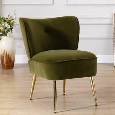 """Sevan 23"""" Velvet Side Chair - Wayfair"""