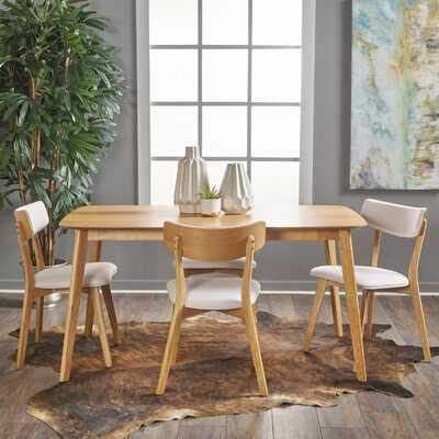 Henry 5 Piece Wood Dining Set - Wayfair