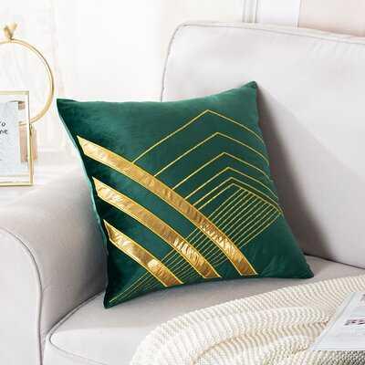 Maisey Square Velvet Pillow Cover - Wayfair