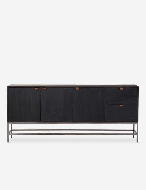 Rosamonde Sideboard, Black Wash Poplar - Lulu and Georgia